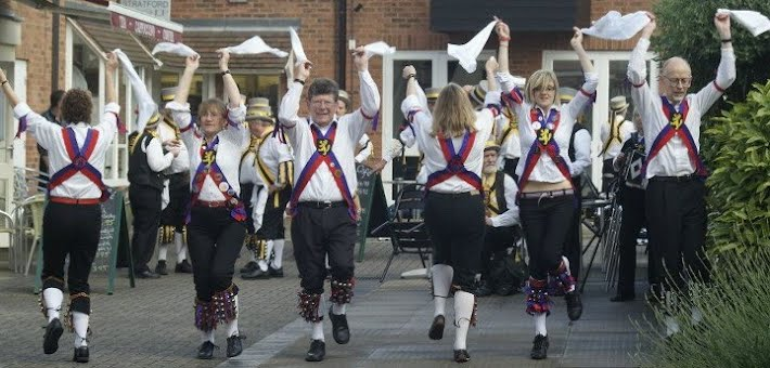 Fenstanton Morris at the JMO Day of Dance, Stratford Upon Avon